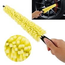 Washing-Brush Vehicle Wheel-Rims Tire Auto Care Car-Accessories Plastic-Handle Universal
