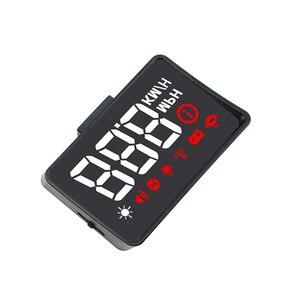 Image 2 - Pantalla HUD para coche A100S, OBD2, EUOBD, advertencia de exceso de velocidad, alarma de voltaje electrónico automático, mejor que A100 HUD