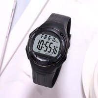 Synoke chronograph men relógios digital esporte 3bar resistente a choques repetidor acrílico volta luz moda simples homem relógio de pulso 3