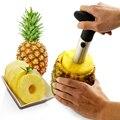 1Pcs Edelstahl Einfach zu bedienen Ananas Schäler Zubehör Pineapple Obst Messer Cutter Corer Slicer Küche Werkzeuge