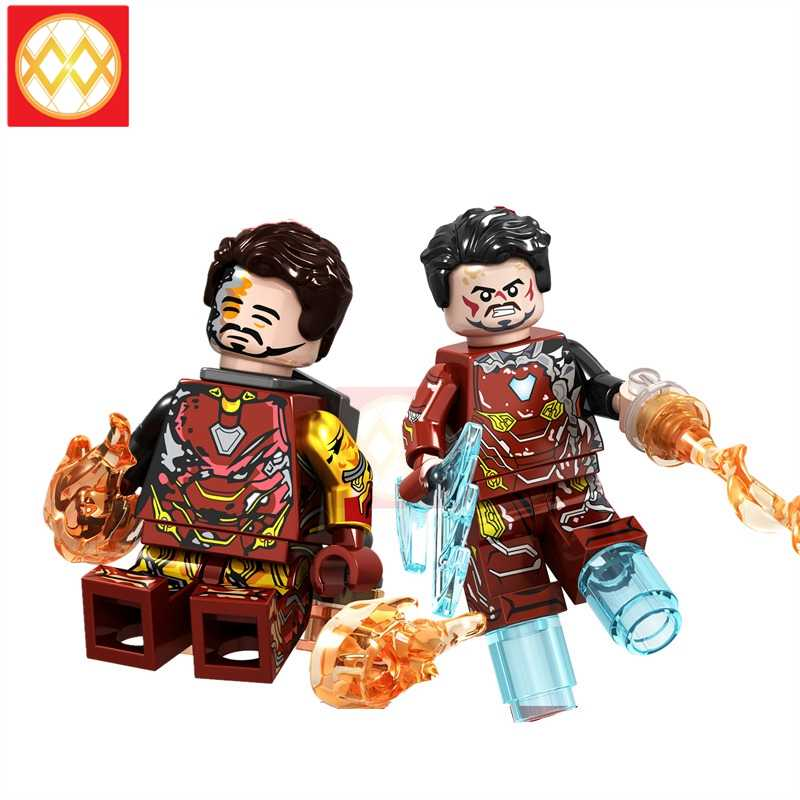 GD231 GD236 Injured Iron Man MK85 50 Pepper Building Blocks Bricks Hawkeye Ironman Ant Man Thor Avengers Super Heroes Toys Gift