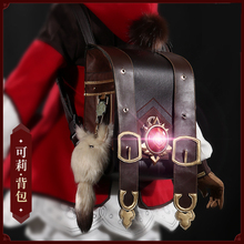 Anime Game Genshin Impact  Klee Spark Knight Cute Backpack Shoulder Bag Loli Bag Cosplay Prop Halloween Free Shipping 2020 New