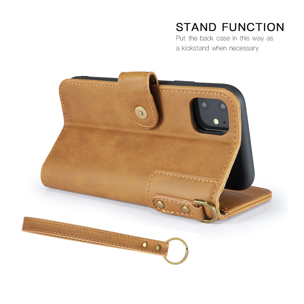 Image 5 - Luxury Magnetic Case for New iPhone 11 Pro Max 2019 XI RX XS MAX XR Leather Wallet Business Book Flip Stand Cover phone case-in Wallet Cases from Cellphones & Telecommunications
