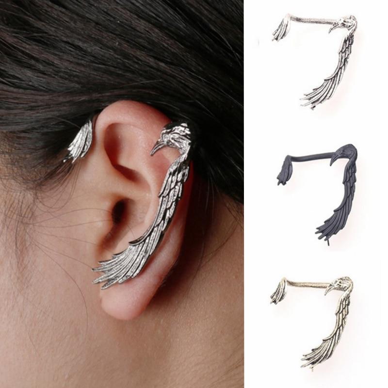 Gothic Women Men Punk Black Acrylic Snail Stud Earrings Ear Piercing Jewelry Hot