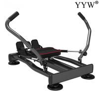 Home Fitness Full Motion Rowing Machine Rower w/ 350 lb Weight Capacity and LCD Monitor arm strength abdominal muscle training