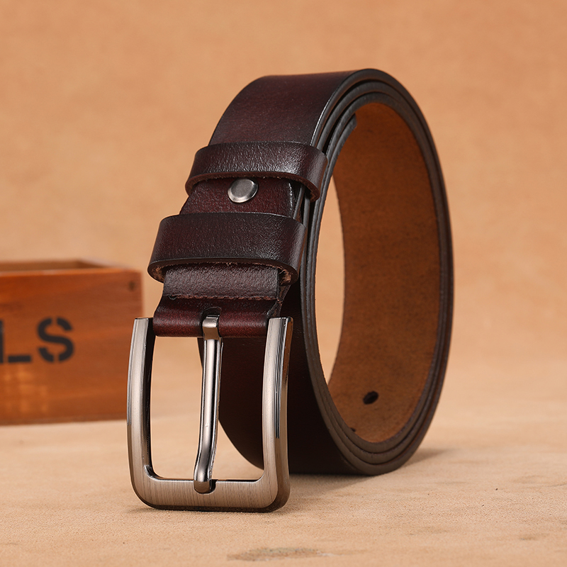 130 140 150 160 170cm Large Plus Long Size Men Belts High Quality Genuine Leather Cowhide Pin Buckle Male Belts Belt For Male