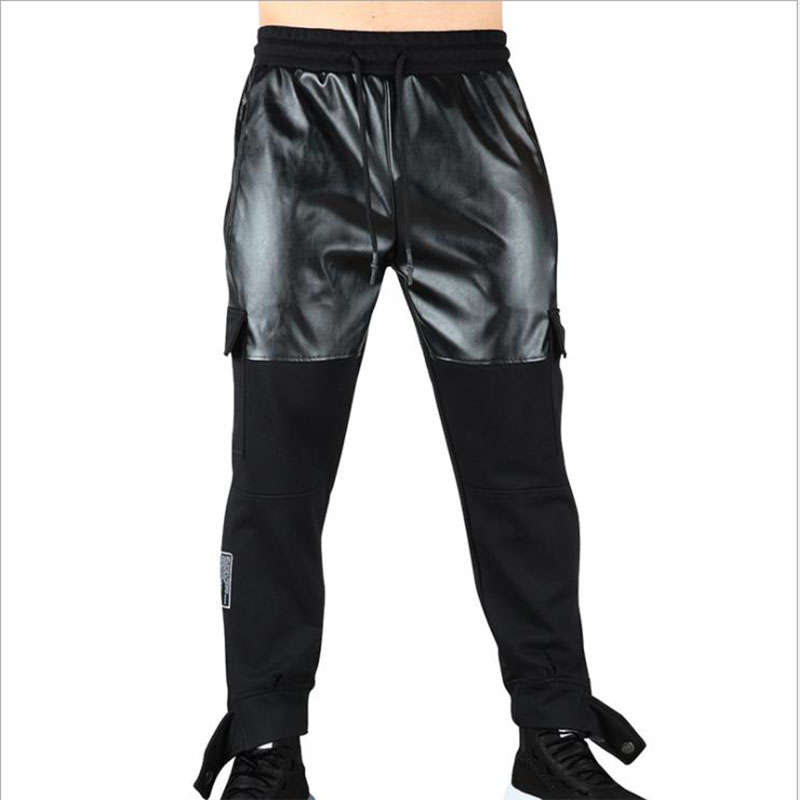 New Fitness Pants Casual Sweatpants Fashion High Street Trousers Pants Men Joggers Oversize Brand High Quality Pants