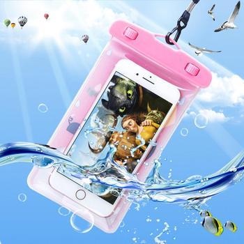 Bolsa Waterpoof para teléfono de animales de dibujos animados para natación playa buceo surf natación bolsa teléfono Waterpoof caso TXTB1