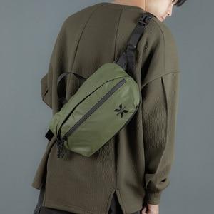 Image 4 - Waterproof Men Shoulder Bag Street Trend Chest Bag Unisex Casual Crossbody Bag Bag Oxford Single Shoulder Strap Pack