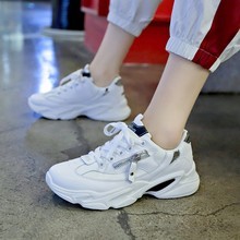 Hot Sale Student Sneakers Breathable Casual Shoes New Female Fashion Soft Footwears Outdoor Vulcanized D0058
