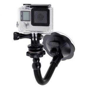 Image 2 - Ventouse en verre Action caméra Sport Cam trépied de montage pour voiture support de support de disque support pour Gopro Hero 7 6 5 Yi2 accessoires