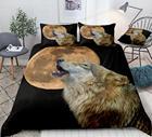 3D Wolf Duvet Cover ...