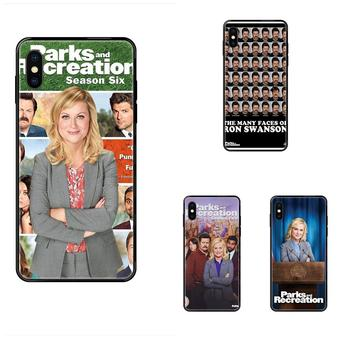 Tv Show Parks And Recreation Poster Soft Cases Capa For Xiaomi Mi Max Mix 2 3 2S 5X 6X CC9 CC9E Pro Note 10 Lite Pro Ultra image