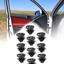 30 шт., фиксаторы панели двери для 98-on VW Golf, Jetta Mk4 Passat 1988 на B5 10 мм, автомобильный бампер