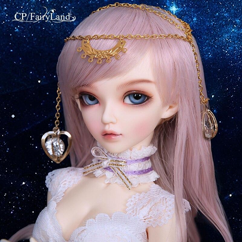 Fullset of Fairyland Minifee package Chloe Celine Mirwen Ante Niella Eliya FL BJD Dolls 1/4 Sweet Fashion Fairy Nude Toys msd(China)