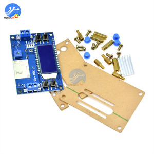 Image 2 - 5A 75W moduł ładowarki CC CV DC 6.5 36V do 1.2 32V 5A 75W napięcie zasilania przetwornica ładowania akumulatora wyświetlacz LCD z etui