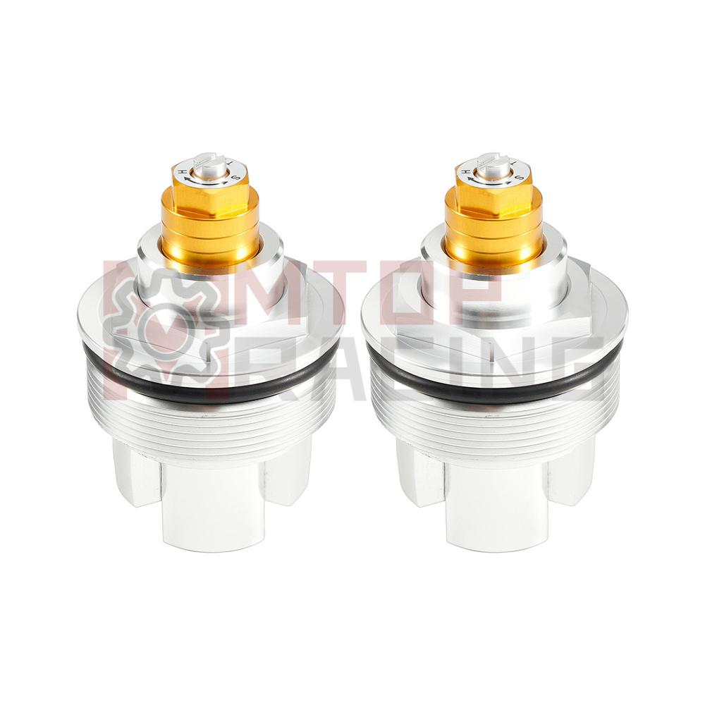 Preload Fork Caps For Kawasaki ZR1100 ZRX1100 1997-2000 43mm Hexagon Fork Bolts