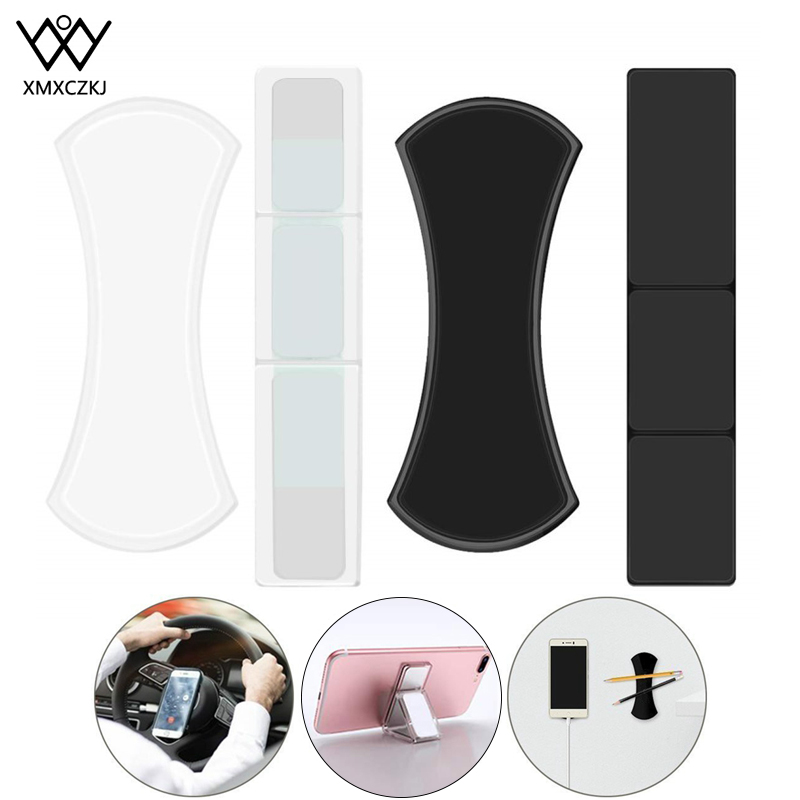 Magic Flourish Lama Nano Rubber Pad Universal Sticker Multi-Function Mobile Phone Holder For IPhone 11 X Max Xr 8 Fixate Gel Pad