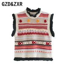 Gzd & zxrfemininamoda em forma de imagem de moda coleção de roupas femininas sem mangas femininas