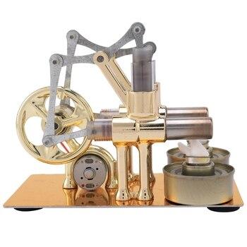 Stirling Engine Balance Engine Motor Model Heat Steam Education Diy Model Discovery Alternator School Supplies Accessories