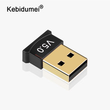 Usb sem fio bluetooth 5.0 adaptador bluetooth dongle csr 4.0 mini receptor de áudio de alta velocidade bluetooth transmissor para computador pc