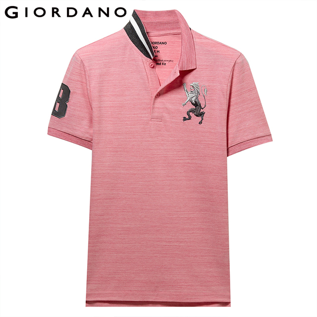 Cadilyn Trends – Men's Clothing, Giordano Embroidered Polo Shirt, Mens Fashion