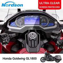 Nordson Motorcycle Cluster Scratch Cluster Screen Protection Film Protector for Honda Goldwing GL1800 2018 cluster