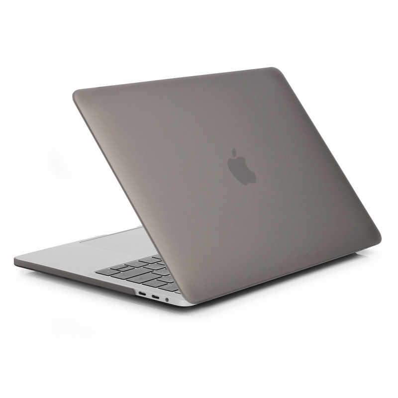 Pokrowiec na laptopa do Macbook pro 16 air Retina 11 12 13 15 do nowego apple Pro A1706 A1990 matowy twardy plastikowy futerał + folia na klawiaturę