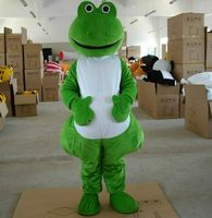Green Frog Mascot Costume Cosplay Party Game Fancy Dress Outfit Advertising Halloween Adult Size