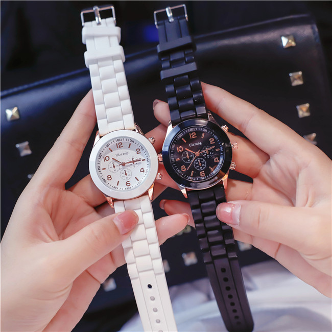 New 2019 Silicone Wrist Watch Women Watches Ladies Top Fashion Quartz Wristwatch For Woman Clock Female Watch Zegarek Damski