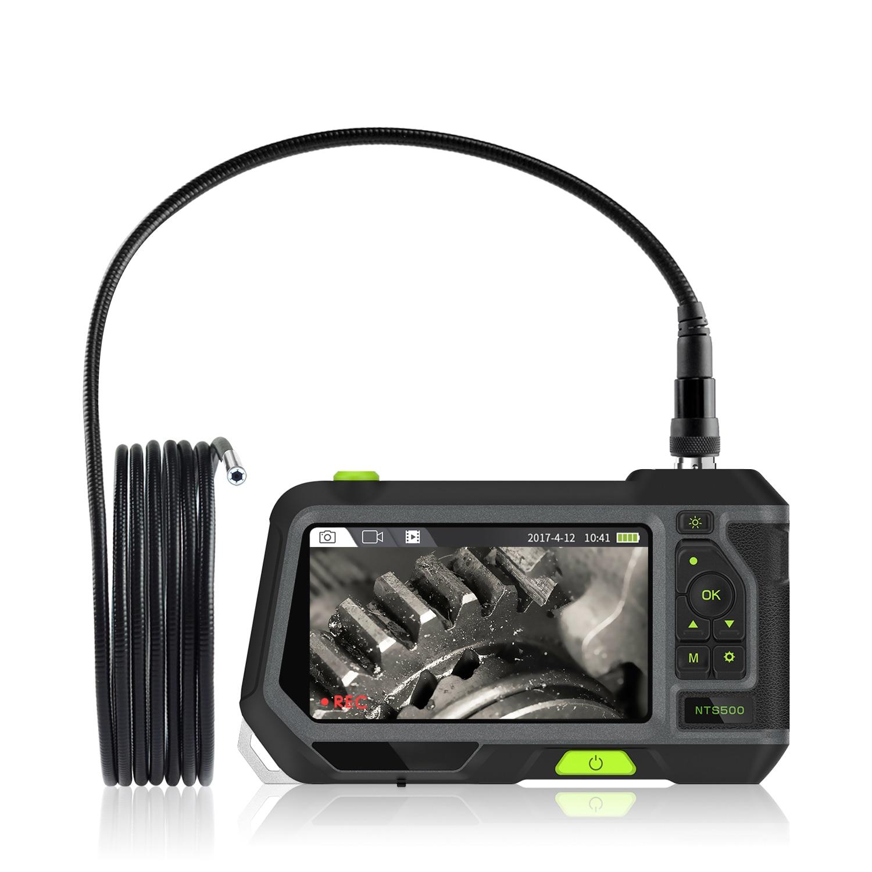 3.9/5.5/7.6mm Mini Endoscope Camera HD Borescope 1280x720 Inspection Camera Waterproof  Car Endoscope with 5 inch LCD Screen