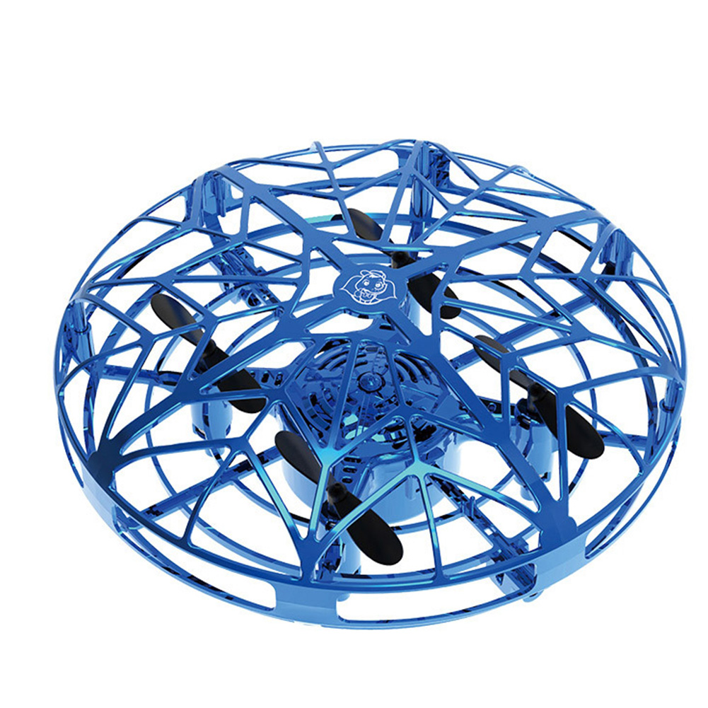 cheapest Flying Aircraft Kids Infraed Induction Soft UFO Shape Anti Fall Wear Resistant USB Charging ABS Four Axis Mini Drone