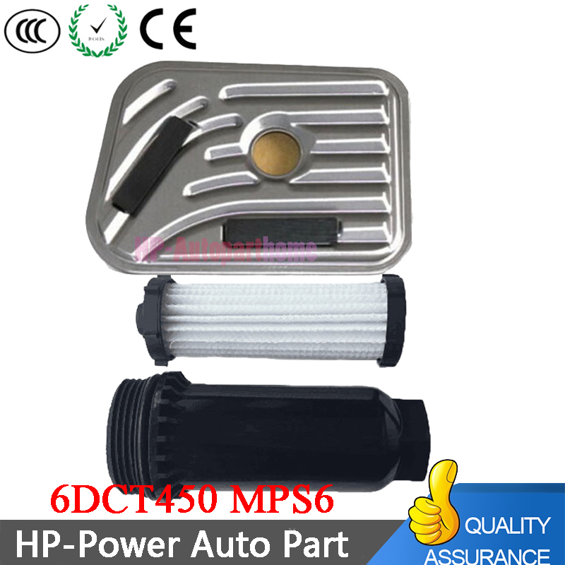 6DCT450 MPS6 New Automatic Transmission Powershift Gearbox External Oil Filter For SEBRING DODGE AVENGER FORD VOLVO