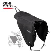 KEMiMOTO Scooters couverture de jambe moto couverture genouillère pluie vent Protection imperméable hiver couette pour BMW pour YAMAHA