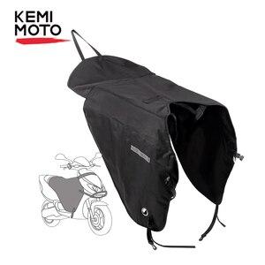 Image 1 - KEMiMOTO skutery noga pokrywa motocykl koc kolana cieplej deszcz ochrona przed wiatrem wodoodporna zima kołdra dla BMW dla YAMAHA