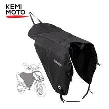 Kemimoto scooters capa perna da motocicleta cobertor joelho mais quente chuva proteção contra o vento à prova dwaterproof água inverno colcha para bmw para yamaha