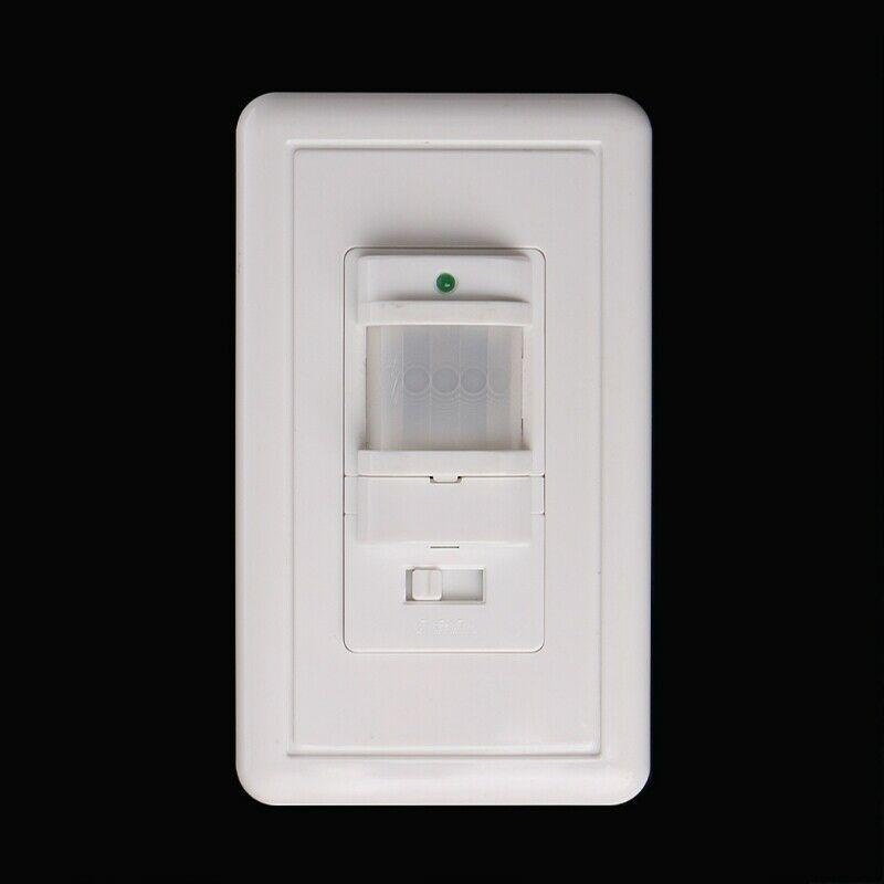 Smart PIR Motion Sensor Schalter AC 85 V-230 V Einbau Infrarot Auto Control AUF/Off Wand schalter menschlichen körper induktion Detektor