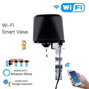 Image 5 - Wifi inteligentny kontroler zaworów do systemu automatyki domowej do sterowania głosem gazu lub wody inteligentny dom Alexa Echo Google Home EU Plug
