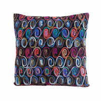 Шерстяное плетение наволочка 45x45 см нет внутренний Специальный Круглый Круг узор квадратной формы красочный диванная Подушка Чехлы X125