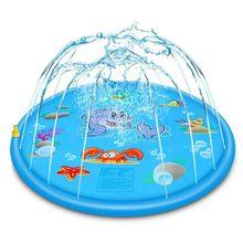 Надувная подушка ПВХ для маленьких детей, Детский коврик для игры на открытом воздухе, детский коврик для игры в воду, Летние подарки для мальчиков и девочек
