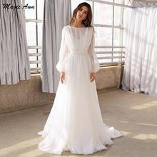 Женское свадебное платье it's yiiya белое в стиле бохо с