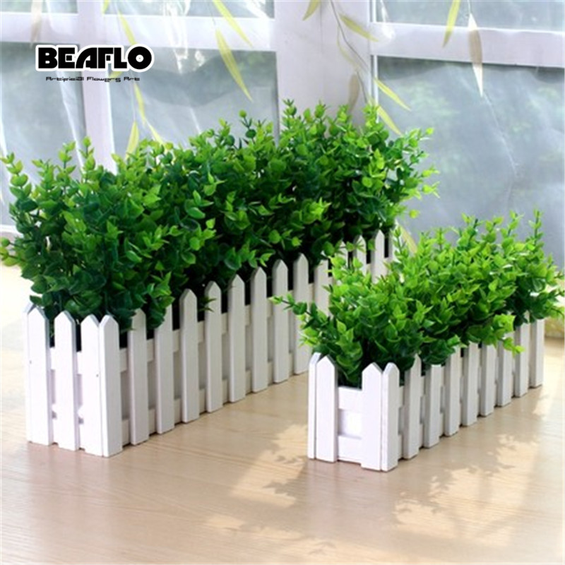 1pc Artificial Grass Leaves Large Eucalyptus Leaf Plants Wall Material Decoration Fake Plant For Home Wedding Garden Party Decor