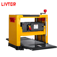 LIVTER Easy Operate Mini Portable Wood Thickness Planer DIY Woodworking Bench Planer Machine with Automatic Feeding Speed