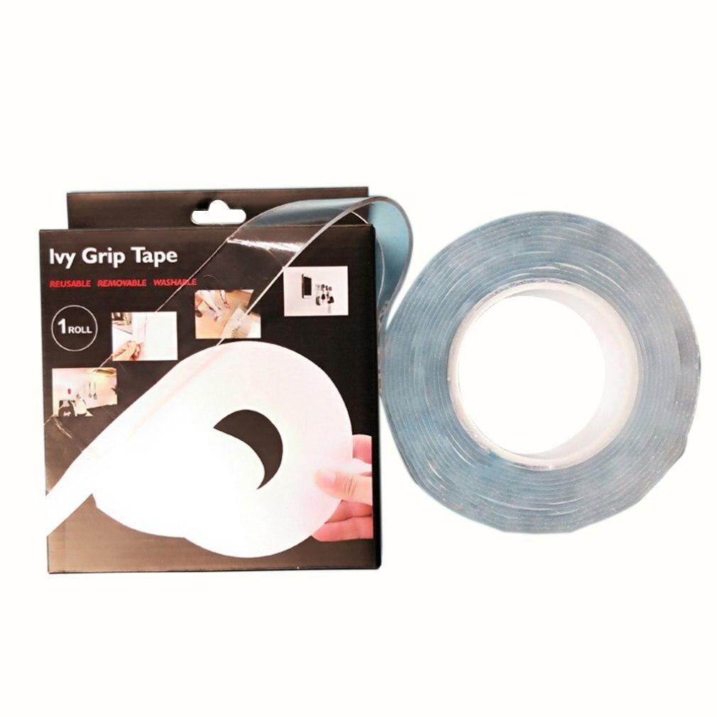 1Meter 30mm/60mm Car Mats Shading Mat Fixed Door Curtains Hook Loop Magic Tape Nylon Self Adhesivo Straps Stickers Velcr 3M Glue
