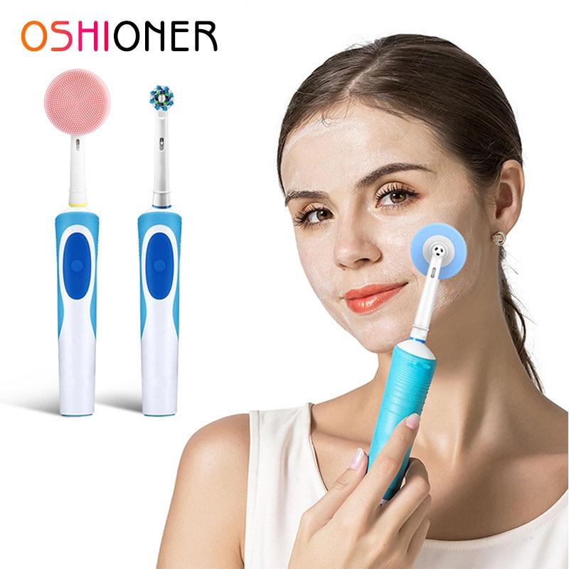 Щетка для чистки лица Oral-B, электрическая зубная щетка, сменные головки, инструменты для ухода за кожей лица