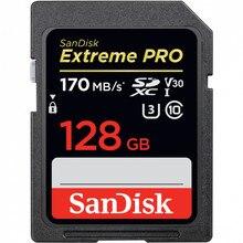Карта памяти Sandisk Extreme Pro SDXC Card 128GB - 170MB/s V30 UHS-I U3
