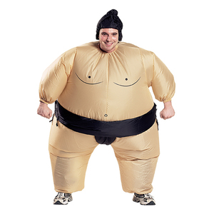 Image 2 - 2 Colors Adult Inflatable Sumo Cosplay Costume Halloween For Men Women Fashion Performance Dropshipping