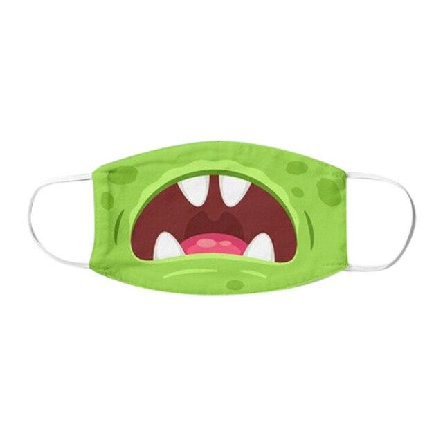 1PC Kids Children Outdoor Cotton Mouth Masks Washable Reusable Face Outdoor Desechables veilScarf Flag Bandana Drop-shipping#3 5