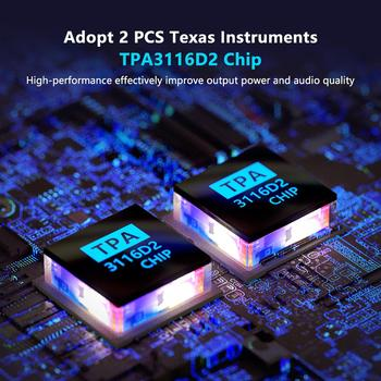 Channel Bass & Treble Control Amp Audio Subwoofer 100W + 50W x2 3