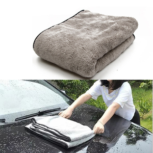 Image 1 - 100X40cm Car Wash Towel Microfiber Car Cleaning Drying Cloth Auto Washing Towels Car Care Detailing Car Wash Accessories
